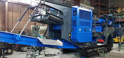 Large industrial fabrication